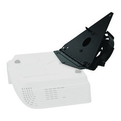 Optoma - OPTOMA BM-5002N Hinged Projector Ceiling Mount - Convenient hinged swing-down plate design allows lamp access while projector stays installed; Hinged plate easily unlocks & locks using a single thumb screw; Time-saving, pre-assembled design; Quick-release feature allows the projector to slide in & out of the track; Cable management feature keeps unsightly cable tangles out of sight; Includes security hardware