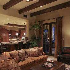 Eclectic Living Room by Schwab Luxury Homes and Interiors