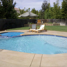 Modern Hot Tub And Pool Supplies by Paradise Pools