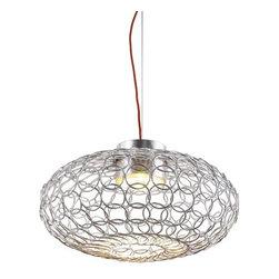 Terzani - Terzani   G.R.A. Suspension Light (oval) - Design by Bruno Rainaldi.
