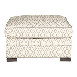 Vanguard Furniture - Vanguard Furniture Nicholas Ottoman 644-OT - Vanguard Furniture Nicholas Ottoman 644-OT