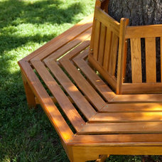 Contemporary Outdoor Stools And Benches by Hayneedle