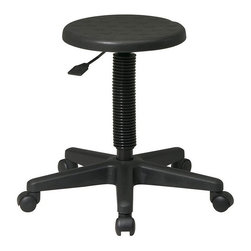 Office Star - Office Star Self-Skinned Urethane Intermediate Stool - Office Star - Drafting Chairs - KH503