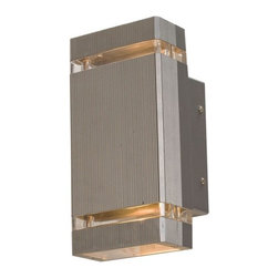 Access Lighting - Beacon 2-lt Outdoor Wet Location Wall Fixture - Beacon 2-lt Outdoor Wet Location Wall Fixture
