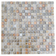 Eclectic Tile by Tile Bar