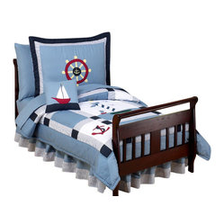 Come Sail Away Toddler Bedding Set