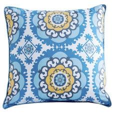 Mediterranean Decorative Pillows by Annette Tatum