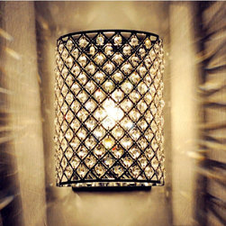 Art Designer Crystal Wall Lamps Dinning Room - Weight:3 KGram