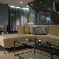Metal mesh -- It's not just for fireplaces! - Anyone with a fireplace worth its salt is probably familiar with wire mesh curtains.