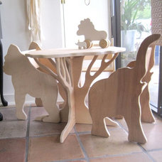 Tropical Kids Tables And Chairs by Stewie's Wood Shop