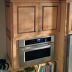 Schrock Microwave Cabinet - Create a custom look and free up counter space with a built-in microwave cabinet.