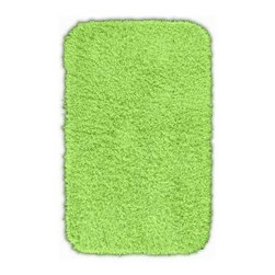 "Garland Rug - Bath Mat: Accent Rug: Jazz Lime Green 24"" x 40"" Bathroom - Shop for Flooring at The Home Depot. Liven up your bathroom with a Jazz Shag Bathroom Rug. These hip and fun rugs will fit easily into any bathroom decor. Jazz is made with 100% Nylon for superior softness and colorfastness. Proudly made in the USA."