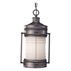 Feiss - Feiss OL9111OLC Dockyard 1 Light Oil Can Outdoor Pendant - Finish: Oil Can