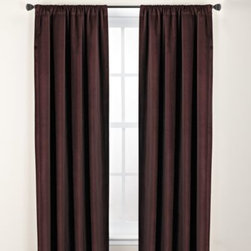 Kenneth Cole Reaction Home - Kenneth Cole Reaction Home Landscape Window Panel - Update your bedroom in the same chic urban style as the Landscape duvet cover with this luxurious window panel. It features a soft velvet fabric that coordinates perfectly with this bedding ensemble.