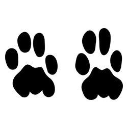 Stencil Ease - Leopard Animal Tracks Stencil - Leopard Animal Tracks Stencil - BASIC Stencils Collection