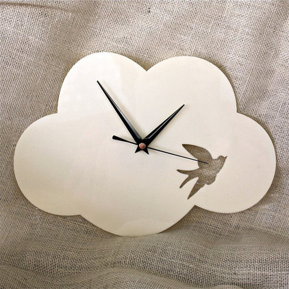 contemporary clocks by Red Revival