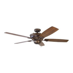 "Rprinceton - 60"" Princeton ceiling fan, reversible blades, light kit adaptable"