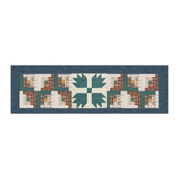 Patch Quilts - Patch Magic Bear Creek Curtain Valance 54 x 16-Inch - - Beautiful patchwork Valance.Window Treatments for ensemble and Bedding items from Patch Magic. Machine washable. Line or Flat dry only  - Finish/Color: Multiple Color  - Product Depth: 54  - Product Width: 54  - Product Height: 16  - Material: 100% Cotton Fabric Patch Quilts - CVBCRE