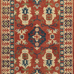 Momeni - Momeni Tangier TAN-3, Red, 5'x8' Rug - This Hand Made rug would make a great addition to any room in the house. The plush feel and durability of this rug will make it a must for your home. Free Shipping - Quick Delivery - Satisfaction Guaranteed