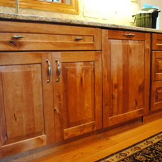 Rustic Kitchen Cabinetry by Sterling Kitchen & Bath