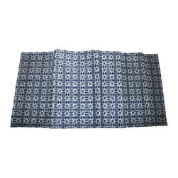 """Grey House Linens LLC. - The Shira Collection Runner - Measures 16"""" x 90""""."""