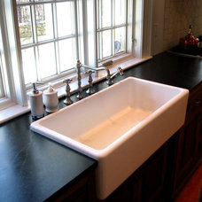 traditional kitchen sinks by Classic Colonial Homes, Inc.