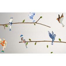 Contemporary Wall Decals by WallsNeedLove