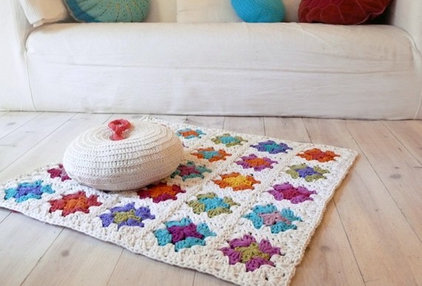 eclectic rugs by Etsy