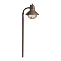 Kichler Lighting - Kichler Lighting 15438OZ Seaside Olde Bronze Landscape Path Light - Kichler Lighting 15438OZ Seaside Olde Bronze Landscape Path Light