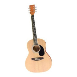 Spectrum Student Acoustic Guitar - Let your child explore the creative and exciting world of music with the Spectrum Student Acoustic Guitar. This quality guitar is perfect for young students to learn the basics of chord structure notes and playing techniques. It features a rosewood fingerboard with mahogany-finished back and sides. It also comes complete with gig bag picks adjustable strap and bonus free downloadable lessons. About Ashley EntertainmentAshley Entertainment is the manufacturer of Spectrum brand musical instruments and is an importer and distributor of several other brands. From shipping points in the US and abroad Ashley Entertainment offers thousands of quality musical products for all levels of play. They supply a wide variety of retail outlets with multiple categories for drop ship and resale both domestic and international.