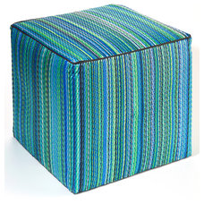Tropical Ottomans And Cubes by Fab Habitat