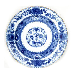 Mottahedeh - Mottahedeh | Imperial Blue Dinner  Plate - By Mottahedeh