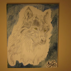 Traditional Artwork Wolf