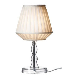 Sarah Fager - MARBY Table lamp - Table lamp, clear glass
