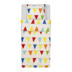 Sirpa Cowell - VITAMINER VIMPEL Duvet cover and pillowcase(s) - Duvet cover and pillowcase(s), multicolor
