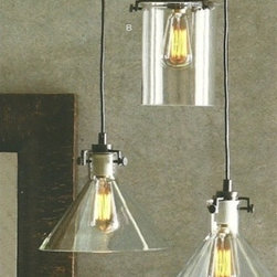 Roost - Roost Funnel and Cylinder Pendants - Bulbs are available for purchase