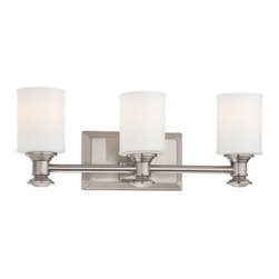Minka Lavery - Minka Lavery ML 5173 3 Light Bathroom Vanity Light from the Harbour Point Collec - Three Light Bathroom Vanity Light from the Harbour Point CollectionFeatures: