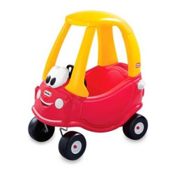 Little Tikes - Little Tikes Cozy Coupe 30th Anniversary Edition - The classic Cozy Coupe comes to life in this friendly-faced 30th anniversary edition. For generations, 30 years in fact, children have been taking adventure and imagination on the road with one of the original ride on toys - the Cozy Coupe.