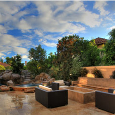 Contemporary Swimming Pools And Spas by Portland Direct Tile & Marble