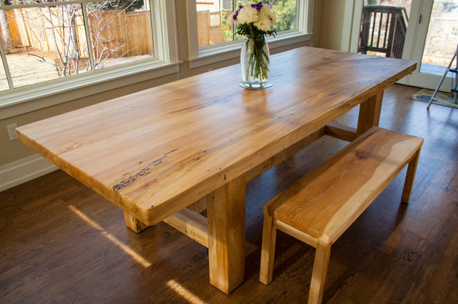 Contemporary Dining Tables by Stone and Cottonwood