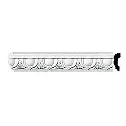 "Renovators Supply - Crown Moldings Urethane Ornate Cobble Hill - Crown Molding | 11611 - Crown Moldings: Made of virtually indestructible high-density urethane our crown molding is cast from steel molds guaranteeing the highest quality on the market. High-precision steel molds provide a higher quality pattern consistency, design clarity and overall strength and durability. Lightweight they are easily installed with no special skills. Unlike plaster or wood urethane is resistant to cracking, warping or peeling.  Factory-primed our crown molding is ready for finishing.  Measures 96"" x 2""."
