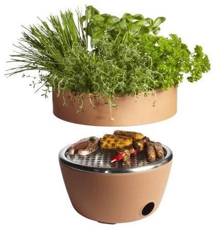 Modern Outdoor Grills by Lumens