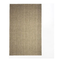 Jute Bouclé Rug - Flax | west elm - An everyday classic, this handwoven rug is made in southern India from jute— a highly sustainable, rapidly renewable resource and a particularly durable material. Available in neutral-colored Flax, this beautifully textured rug is also reversible.