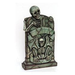 "Tombstone Skeleton, 43"" H -"