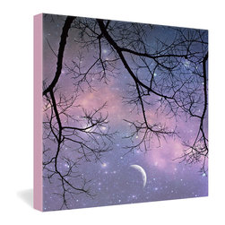 "DENY Designs - Shannon Clark Twinkle Twinkle Gallery Wrapped Canvas - Want your home to show like a museum? Look no further than the gallery wrapped canvas collection! Each Gallery Wrapped Canvas from DENY is made with UV resistant archival inks and is individually trimmed and professionally stretched over 1-1/2"" deep wood stretcher bars. We also throw in the mounting hardware so that when you get it, it's a piece of cake to hang on your wall. The only thing you'll need after your purchase is the cool gallery laser beam security to protect it."