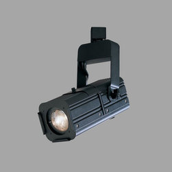 Nora Lighting - Nora NTL-226B 3-in-1 Combination Projector Low Voltage Track Fixture - Combination projector serving three functions: Gobo Protector, Framing Projector, Beam Concentrator.