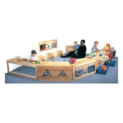 Strictly for Kids Premier Deluxe 5-Piece Primary Care Cabinet Set - About Strictly for KidsBased in Tacoma, Wash., Strictly for Kids prides itself on creating top quality furniture and equipment for preschools, daycares, head start classrooms, and more. With high quality materials like birch plywood and products that exceed safety requirements, Strictly for Kids is a company you can trust.