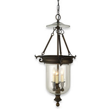 Shop Royce Lighting 3-Light Stalton Oil-Rubbed Bronze Chandelier at Lowes.com