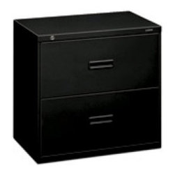 Basyx by HON 400 Series 2-Drawer Lateral Filing Cabinet - Built with the durability you come to expect, the Hon 400 Series 2-Drawer Lateral Filing Cabinet will fulfill all your filing needs. Store legal- or letter-sized files with ease using the adjustable hang rails. Equipped with an anti-tip mechanism, the cabinet includes interlocking drawers to cut down on accidents, and its telescoping slide suspension operates on steel ball-bearing suspension. Lock both drawers with one key to keep contents secure. Your order includes a 5-year limited warranty. About the HON CompanyHeadquartered in Muscatine, Iowa, the HON Company is established as a leader in the office furniture industry. The HON Company designs and manufactures products including chairs, files, panel systems, tables, and desks. With several national manufacturing facilities, the company provides products through a system of dealers and retailers throughout the United States. In an effort to think and act green, the HON Company uses less packing material, reduces their amount of fabric waste, and uses recycled wood from other furniture.