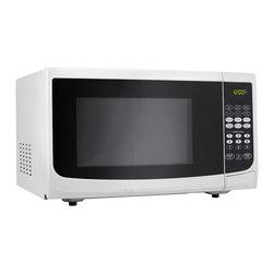 Danby - 1.1 Cu.Ft. Microwave - White - -Spacious 1.1 cu. ft. capacity microwave
